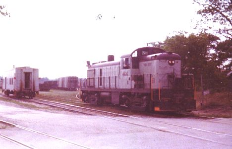 D&M 466 switches East Tawas